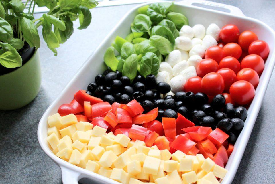 Bild von einem Salat im EM-Stil