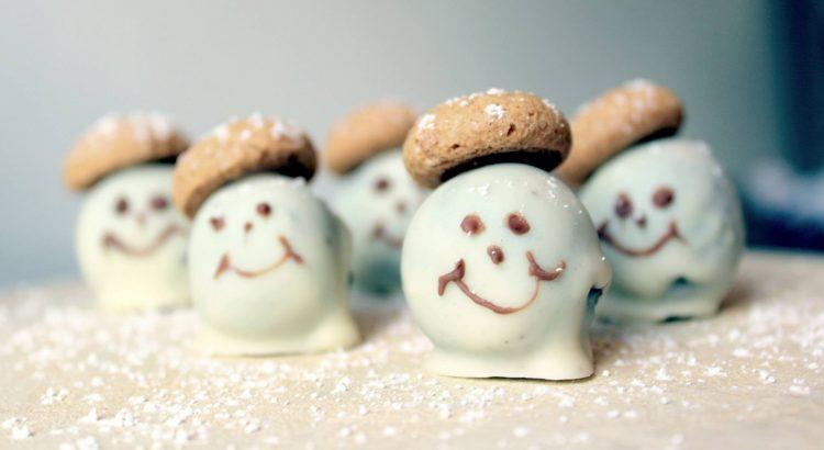 Bild von einer Schneemann Praline