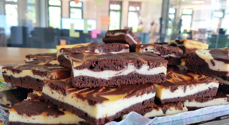 Bild von Cheesecake-Brownie Kuchen